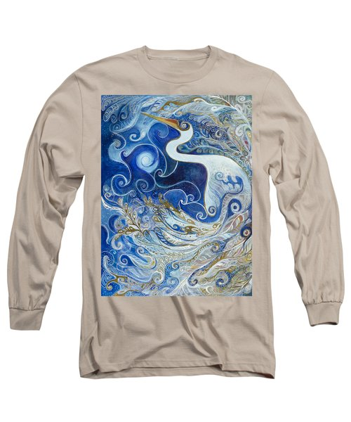 Seeking Balance Long Sleeve T-Shirt by Leela Payne
