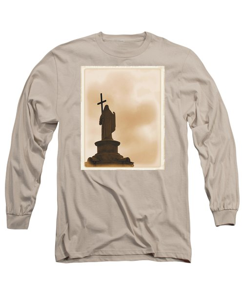 Seeking The Divine Long Sleeve T-Shirt by Nadalyn Larsen