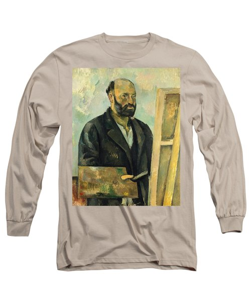 Self Portrait With Palette Long Sleeve T-Shirt