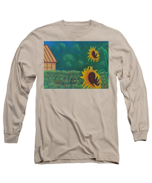 Sergi's Sunflowers Long Sleeve T-Shirt