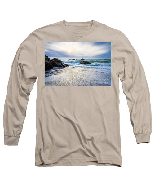 Setting Sun And Rising Tide Long Sleeve T-Shirt