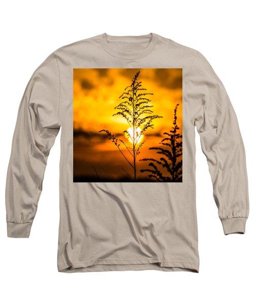 Setting Sun Long Sleeve T-Shirt by Parker Cunningham