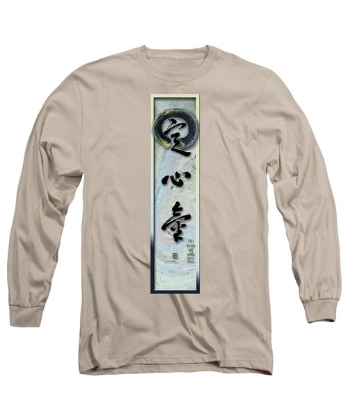 Settle Your Mind Teishinki Long Sleeve T-Shirt