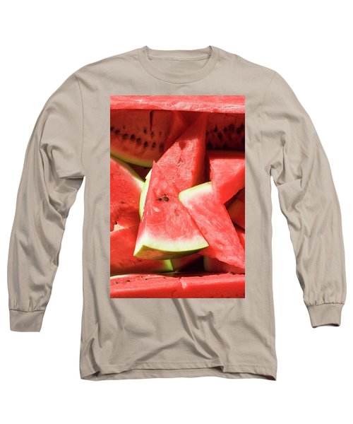 Several Pieces Of Watermelon Long Sleeve T-Shirt