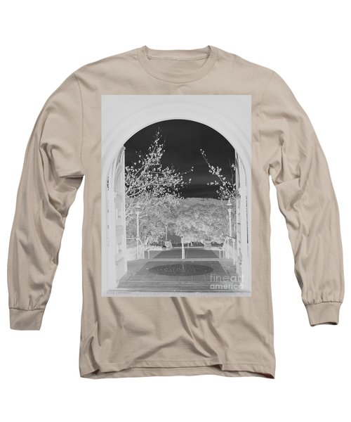 Shades Of Grey Long Sleeve T-Shirt by Carol Lynn Coronios