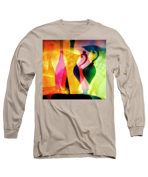 Shades Of Vase And Pitcher Long Sleeve T-Shirt