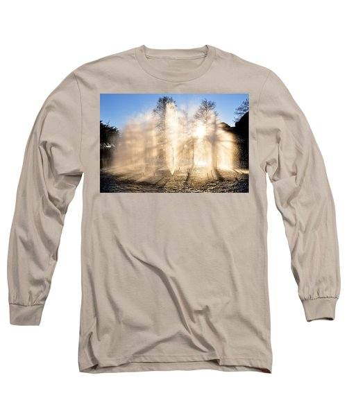 Long Sleeve T-Shirt featuring the photograph Shadow Play by Charlotte Schafer