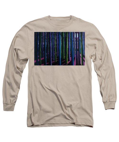 Shadows And Moonlight Long Sleeve T-Shirt