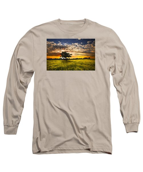 Shadows At Sunset Long Sleeve T-Shirt