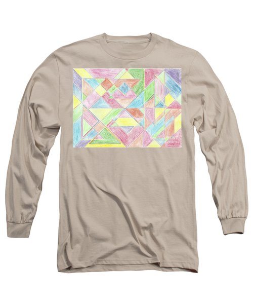 Shapes Of Colour Long Sleeve T-Shirt