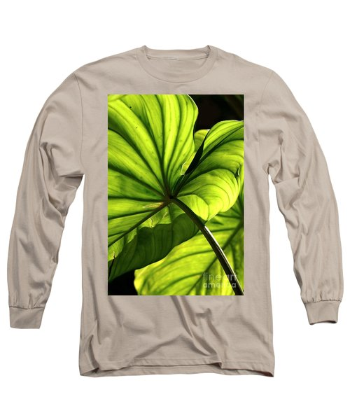 Shapes Of Hawaii 12 Long Sleeve T-Shirt by Ellen Cotton