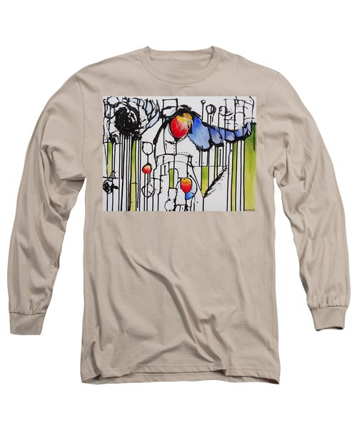 Sharpened Perception Long Sleeve T-Shirt by Jason Williamson