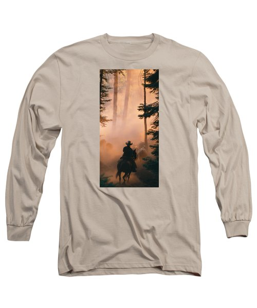 Shayna Long Sleeve T-Shirt by Diane Bohna