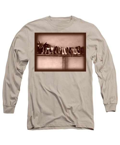 Shoes Long Sleeve T-Shirt by Fran Riley