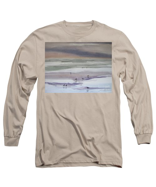 Shoreline Birds II Long Sleeve T-Shirt