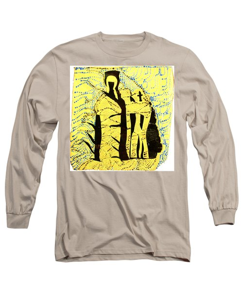Shroud Of Jesus Long Sleeve T-Shirt
