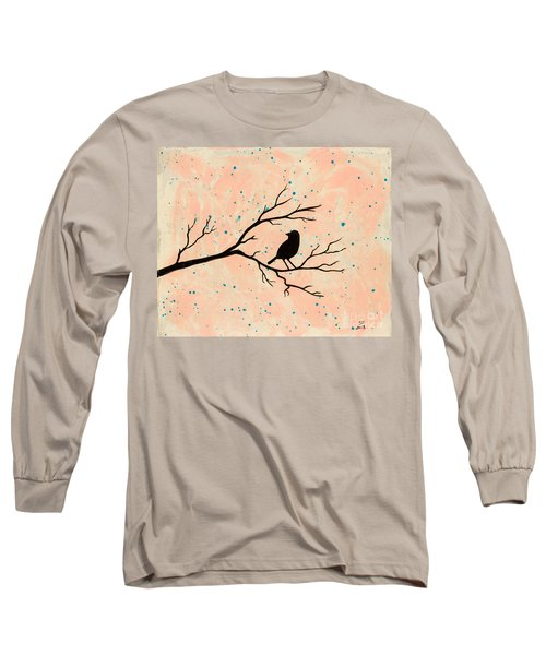 Silhouette Pink Long Sleeve T-Shirt