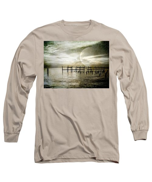 Long Sleeve T-Shirt featuring the photograph Silhouettes  by Kathy Bassett