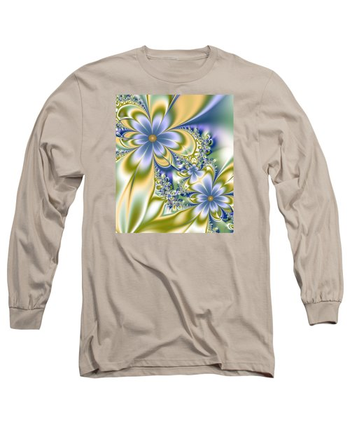 Silky Flowers Long Sleeve T-Shirt