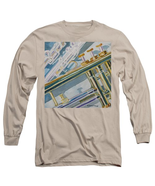 Silver And Brass Keys Long Sleeve T-Shirt