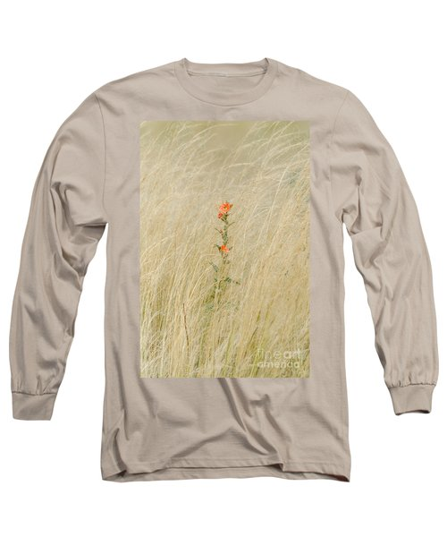 Simple Splash Of Color Long Sleeve T-Shirt