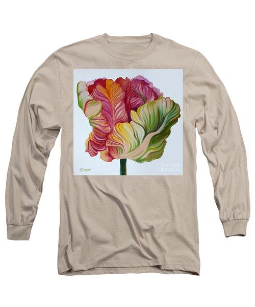 Simple Tulip Long Sleeve T-Shirt