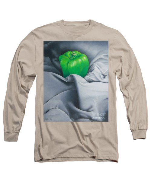 Simply Green Long Sleeve T-Shirt by Pamela Clements