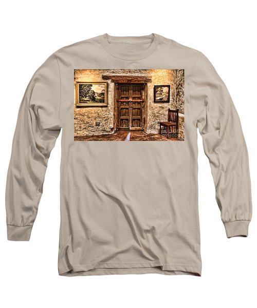Sitting By The Door By Diana Sainz Long Sleeve T-Shirt