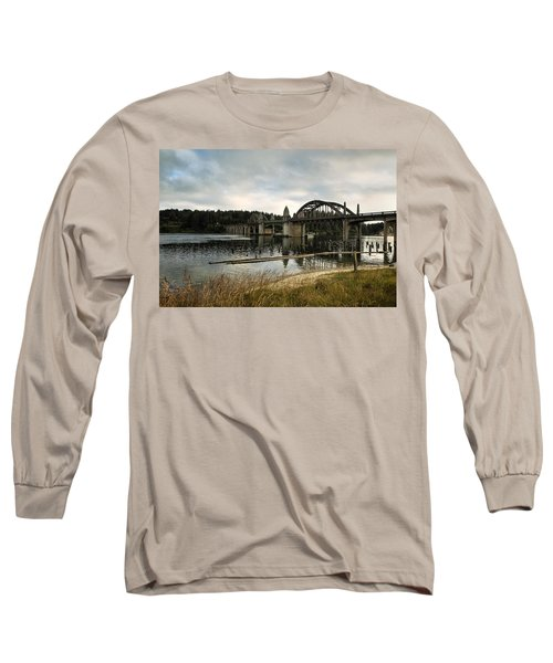 Siuslaw River Bridge Long Sleeve T-Shirt