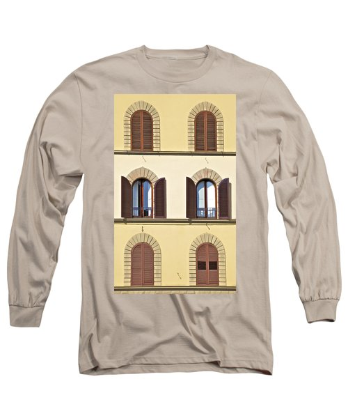 Six Windows Of Florence Long Sleeve T-Shirt