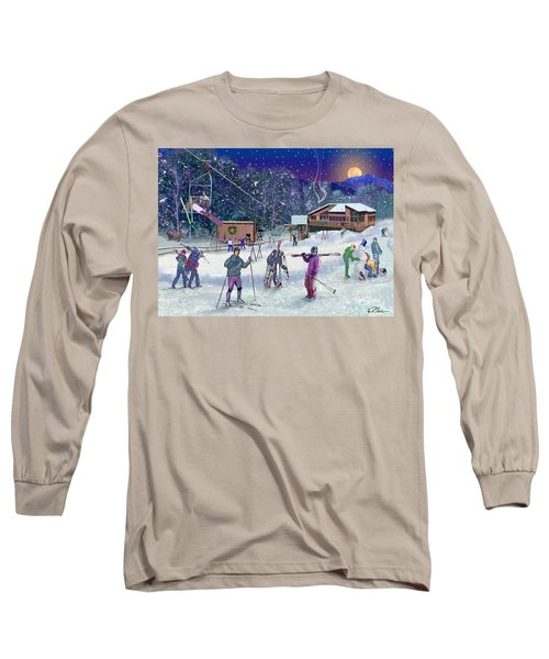 Ski Area Campton Mountain Long Sleeve T-Shirt