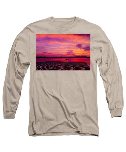 Skies Ablaze - Two Long Sleeve T-Shirt