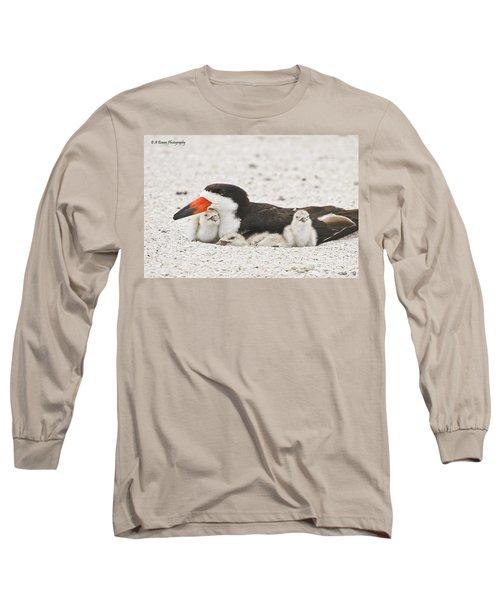 Skimmer Family Cuddle Long Sleeve T-Shirt