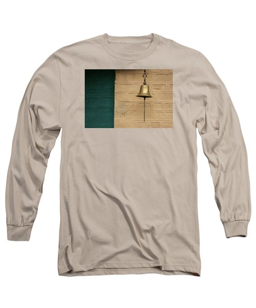 Long Sleeve T-Shirt featuring the photograph Skc 0005 A Doorbell by Sunil Kapadia