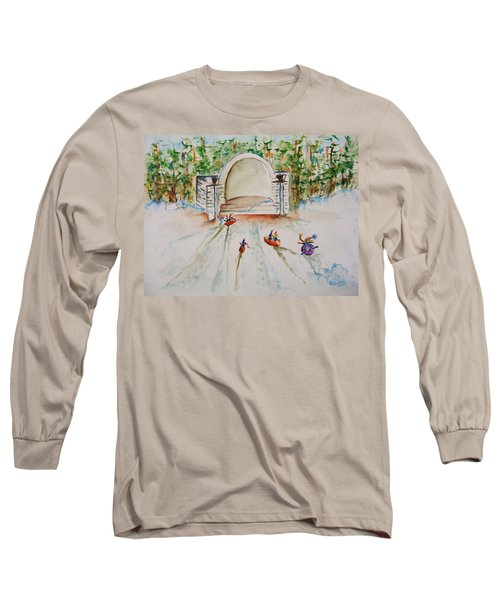 Sledding At Devou Park Long Sleeve T-Shirt