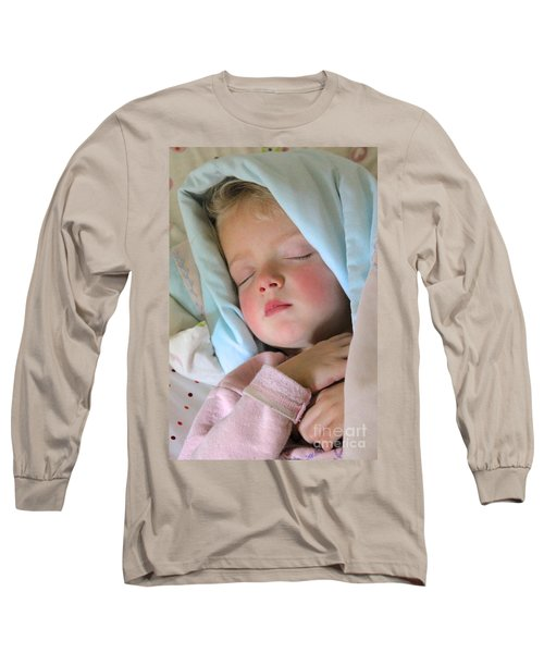 Sleeping Angel Long Sleeve T-Shirt