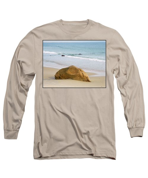 Sleeping Giant  Long Sleeve T-Shirt by Kathy Barney