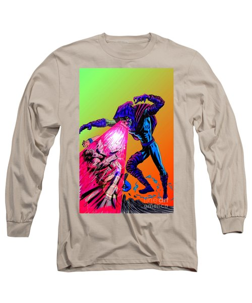 Sleepwalker 1d Long Sleeve T-Shirt by Justin Moore