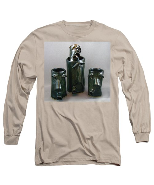 Small Faces Long Sleeve T-Shirt by Mario Perron