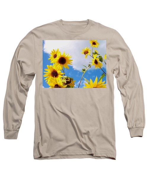 Smile Down On Me Long Sleeve T-Shirt