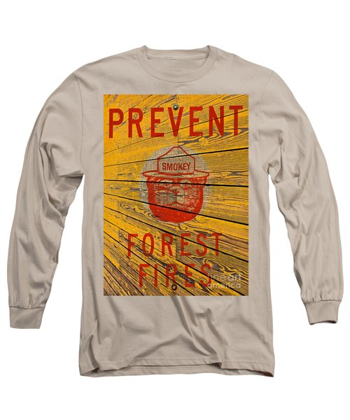 Smokey Long Sleeve T-Shirt by David Lawson