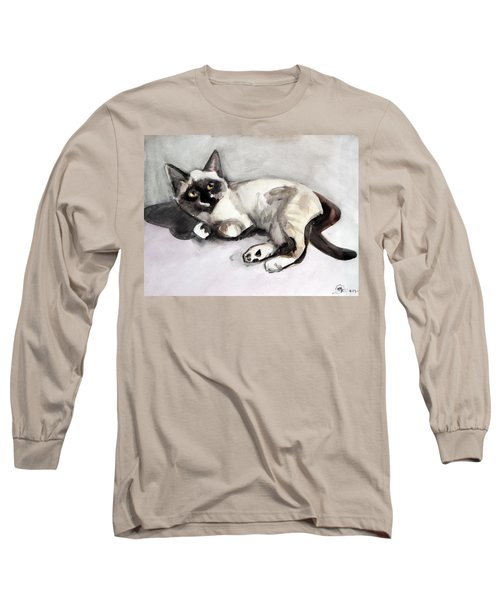 Smudge At 8 Weeks  Long Sleeve T-Shirt