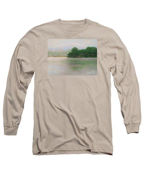 Snow At Beaver Lake Long Sleeve T-Shirt