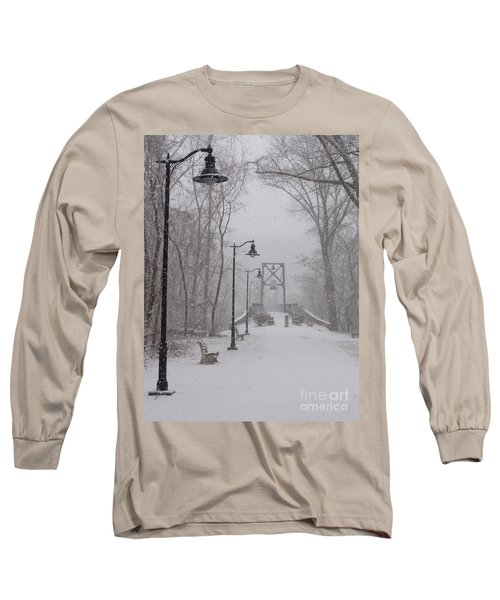 Snow At Bulls Island - 05 Long Sleeve T-Shirt