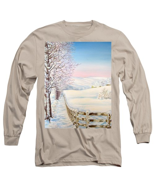 Snow Path Long Sleeve T-Shirt