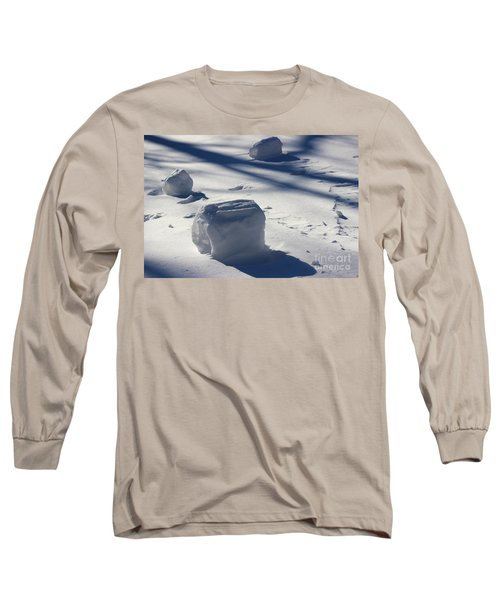 Snow Roller Trio In Shadows Long Sleeve T-Shirt