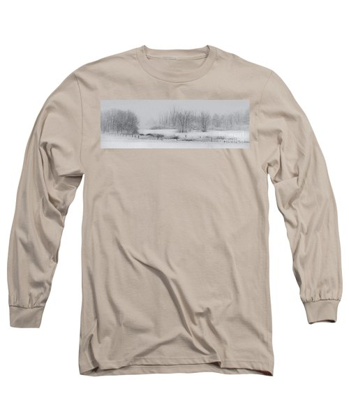 Snowy Fields Long Sleeve T-Shirt