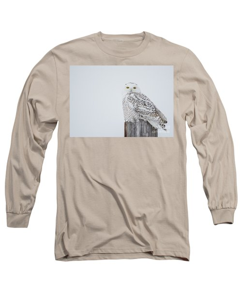 Snowy Owl Perfection Long Sleeve T-Shirt