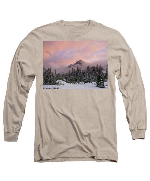 Snowy Surprise Long Sleeve T-Shirt
