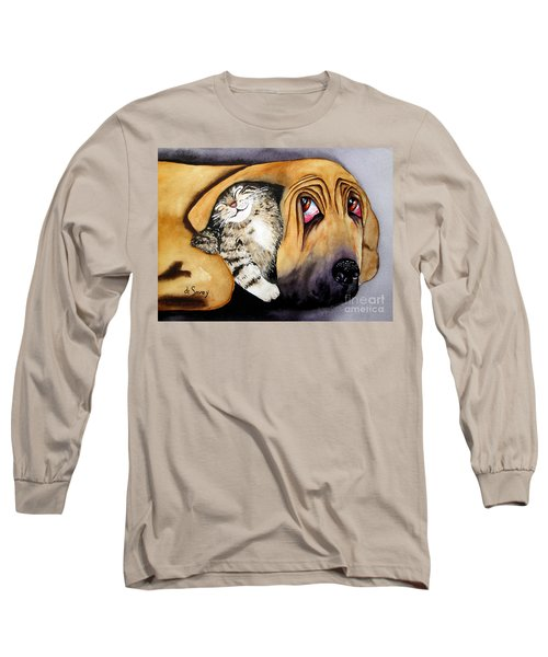 Snuggles Long Sleeve T-Shirt